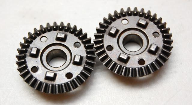 Traxxas TRX-4 steel diff gears