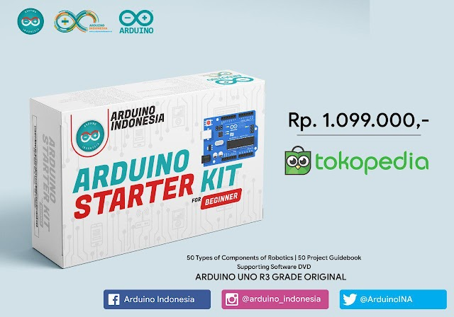 Arduino Starter KIT for Beginner - Premium Version - Made in Arduino Indonesia