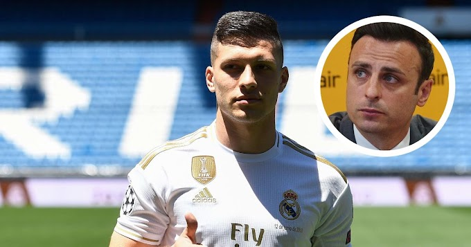Dimitar Berbatov reveals leaving Real Madrid will be best bet for Luka Jovic: 'A loan back to Frankfurt will suit him'