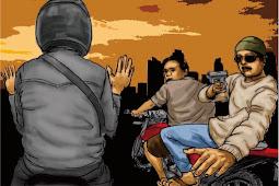 Ngaku Sebagai Polisi, 2 Begal Memakai Pistol Palsu dihajar Warga Karena Menodong Korban Dengan Pistol Palsudi Jepara