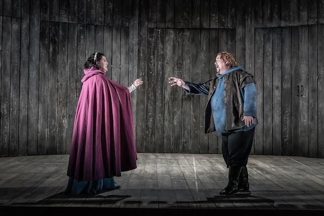 Rimsky Korsakov: Ivan the Terrible - Evelina Dobracheva, Carl Tanner - Grange Park Opera (Photo Marc Brenner)