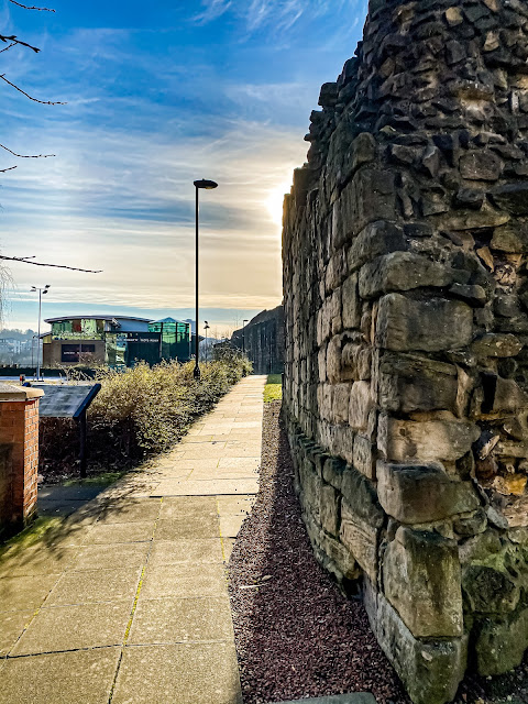 Newcastle town wall, how to get the most out of your lockdown walks, mandy charlton, photographer