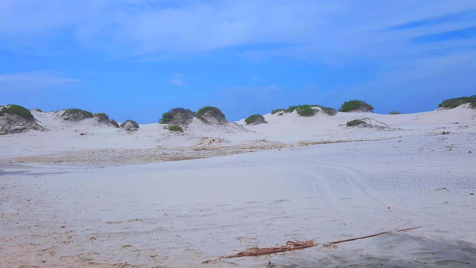 Dunas na praia de Mangue Seco