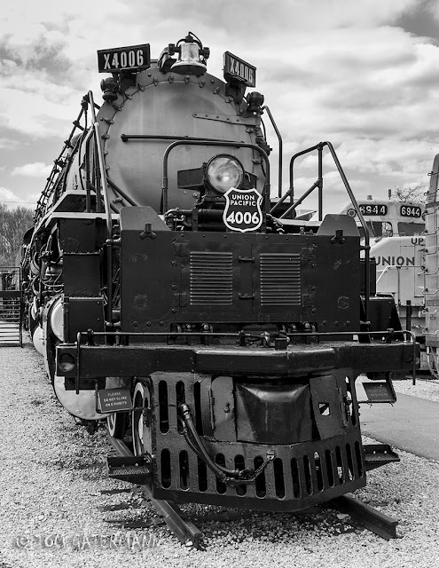 Front of UP Big Boy 4006 at the National Museum of Transportation.