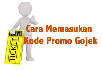 cara memasukan kode promo Gojek, cara menggunakan kode promo Gojek, kode promo Gojek, promo gojek, voucher gojek
