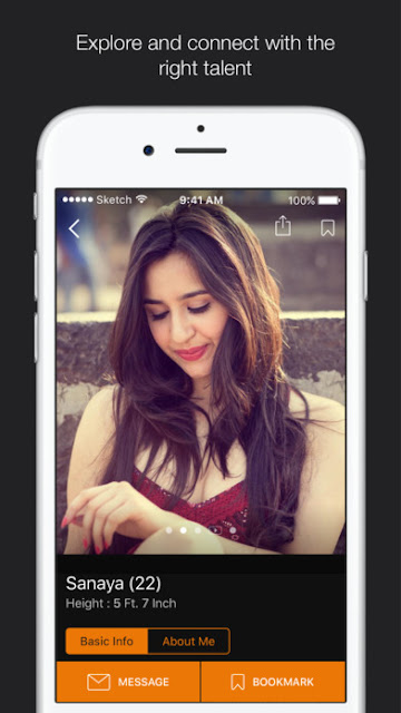 Quikr's Dazzlr  Android/Iphone App to organise film industry | Free Audition Detail