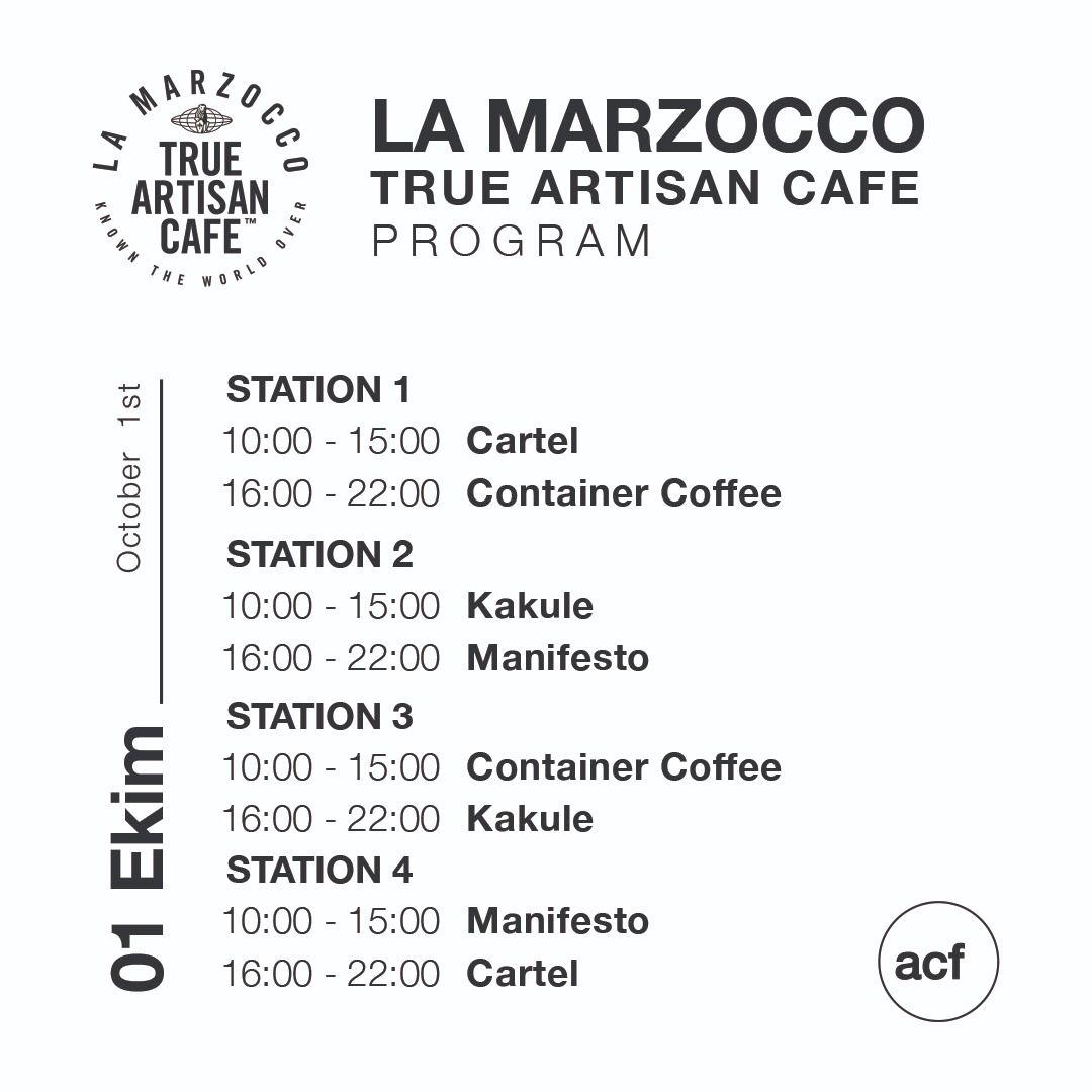 Ankara Coffee Festival'da La Marzocco True Artisan Cafe