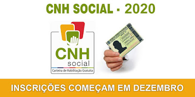 CNH Social 2020 - Inscrições começam em dezembro, inscreva-se