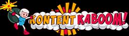 Kontent Kaboom - How to get fresh content for your blog? Get Kontent Kaboom