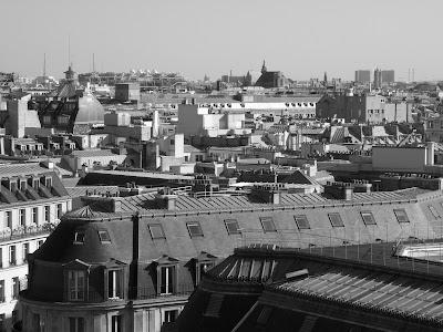 terrasse des galeries Lafayette