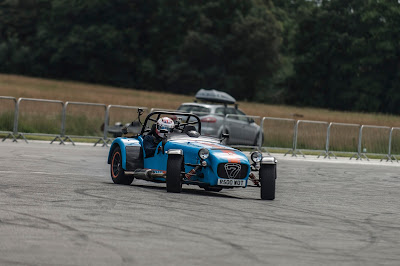 Sideways action in my Caterham R500 at the Supercar Event, Dunsfold - Picture taken by George F Williams