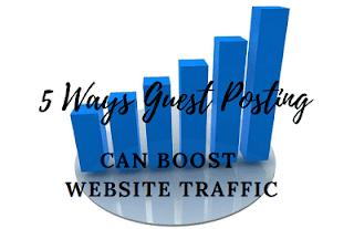 5 Wege Gastbeiträge können den Website-Verkehr steigern