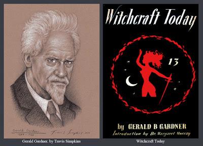 Gerald Gardner. Book of Shadows. Gardnerian Wicca. Magick. Witchcraft Today. by Travis Simpkins