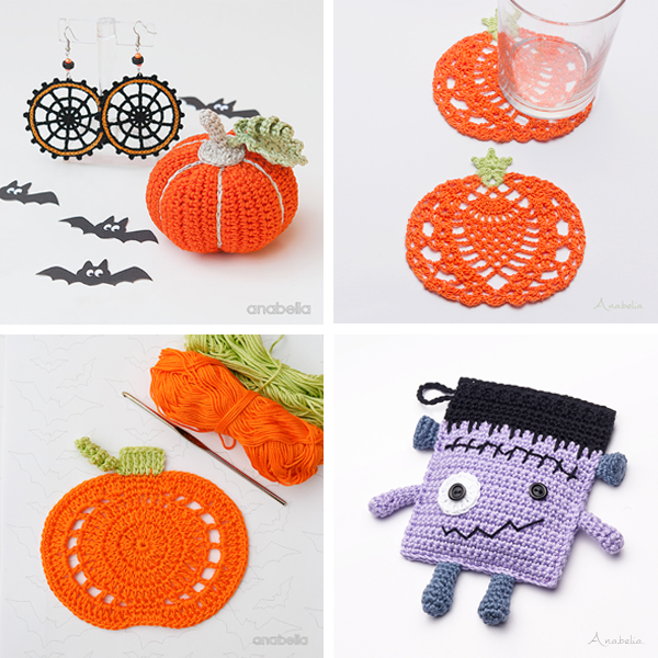 Halloween crochet projects, Anabelia Craft Design