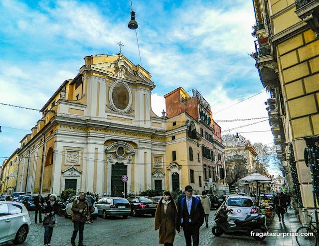 Bairro do Trastevere, Roma