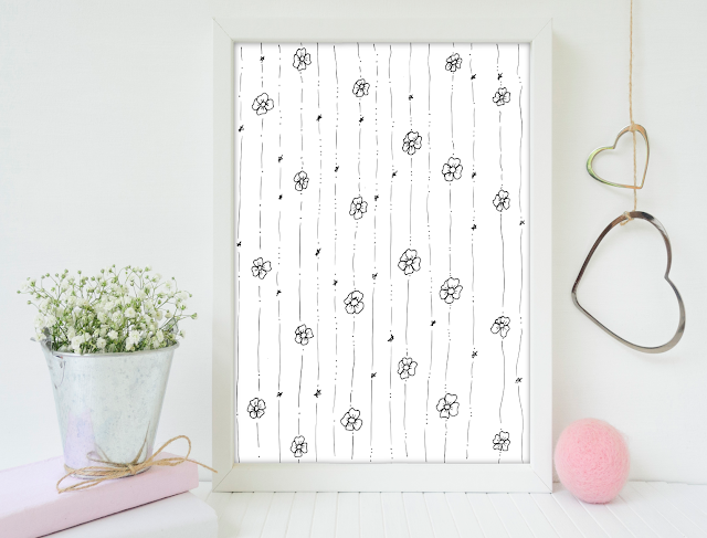 Little Flowers Pattern Illustration