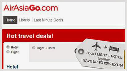 CPUV Nuffnang : Air Asia Go Korea Sale