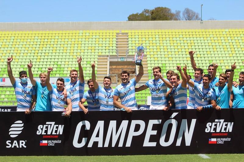 Los Pumas 7s campeones sudamericanos