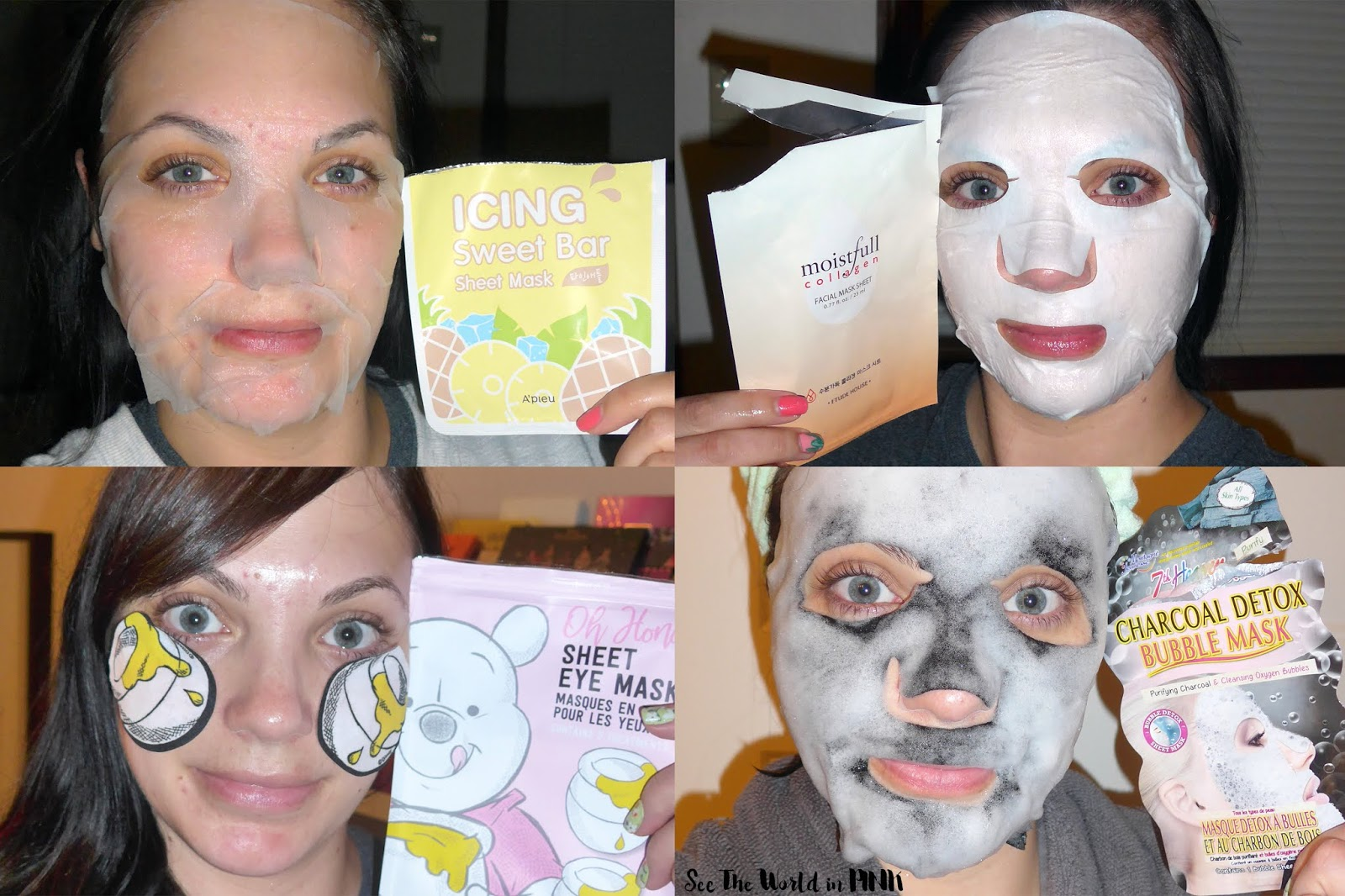 Skincare Sunday - First 50 days of my #100DaysofSheetMasks