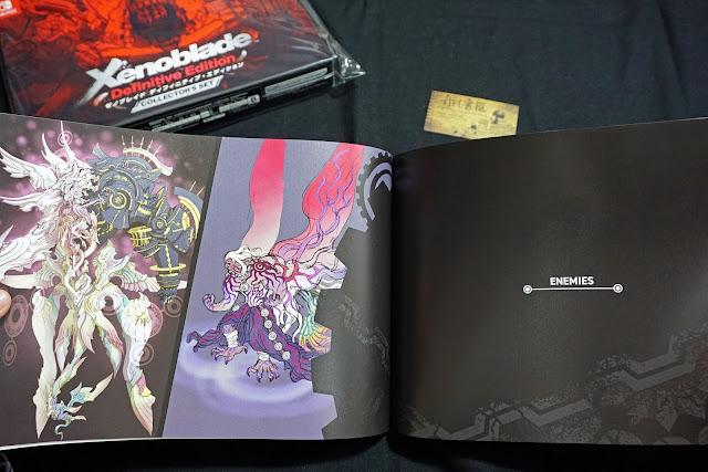 DSC01945 - 異域神劍 異度神劍 終極版 遊戲限定版畫集  ゼノブレイド ディフィニティブ・エディション / Xenoblade Definitive Edition / Xenoblade Chronicles: Definitive Edition