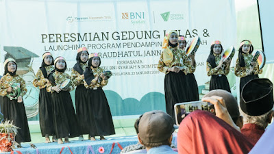 BNI Syariah dan DD Pendidikan Berkolaborasi, Tingkatkan Kualitas Pendidikan di Batas Negeri