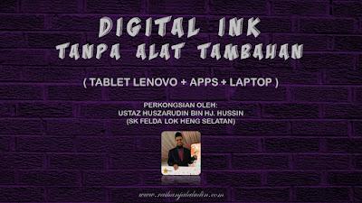 Digital Ink Tanpa Alat Tambahan - Hanya Tablet Lenovo, Apps & Laptop