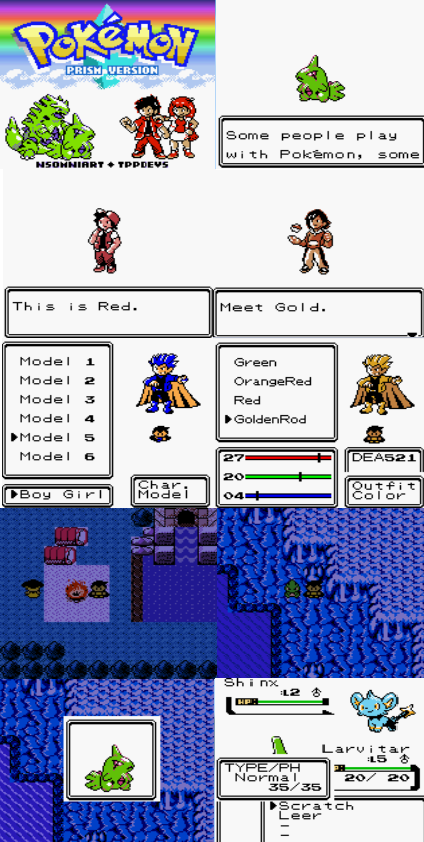 Pokemon Prism GBC ROM Download