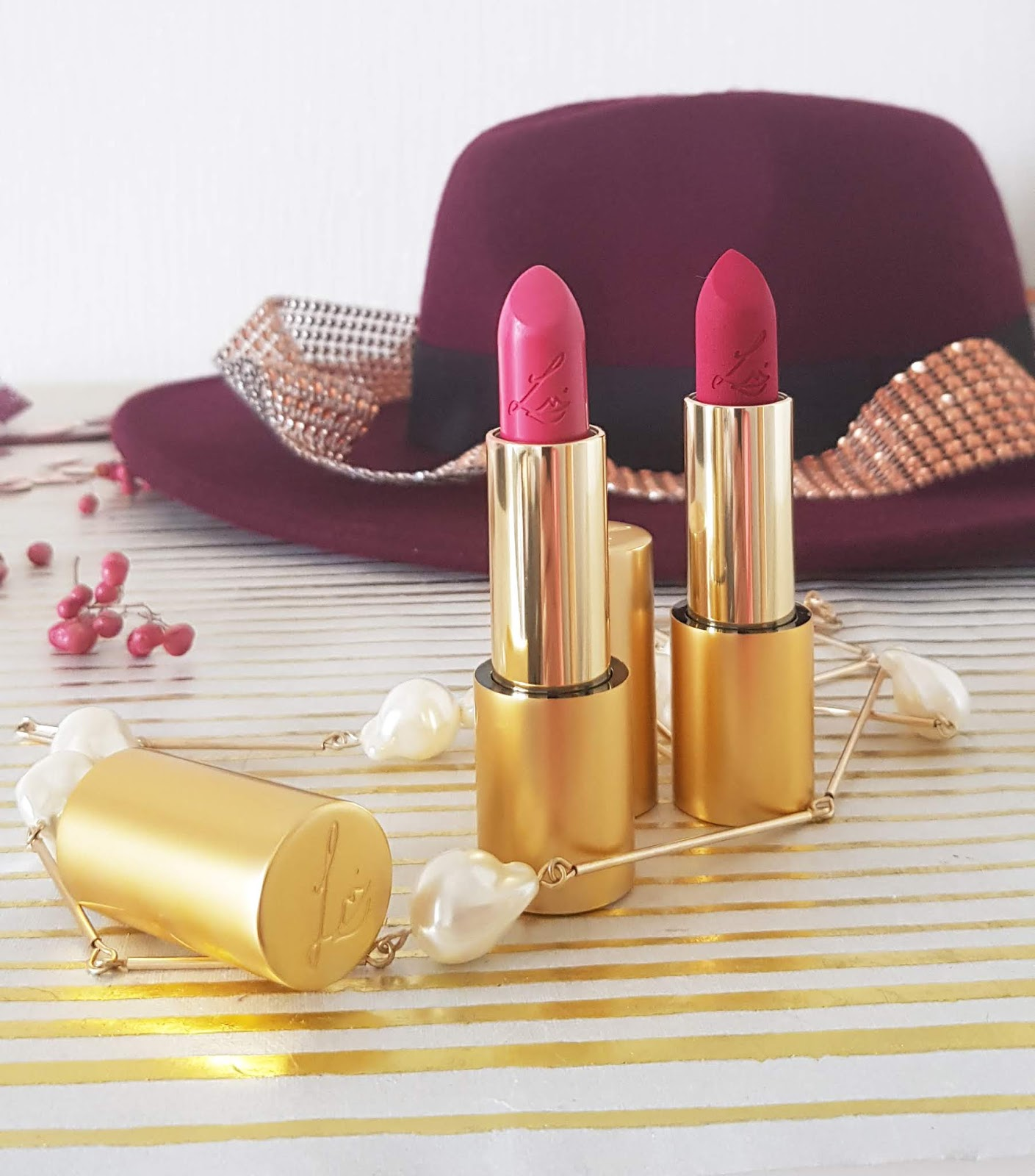 Luxurious New Pink Lipsticks from Lisa Eldridge