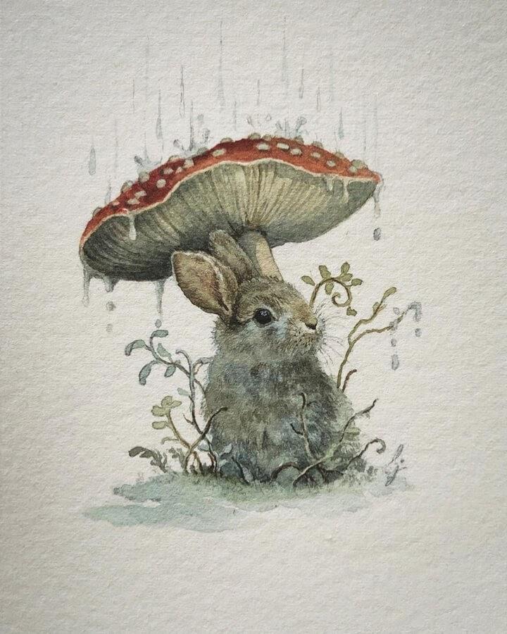 07-Little-rabbit-hiding-Lily-Seika-Jones-www-designstack-co