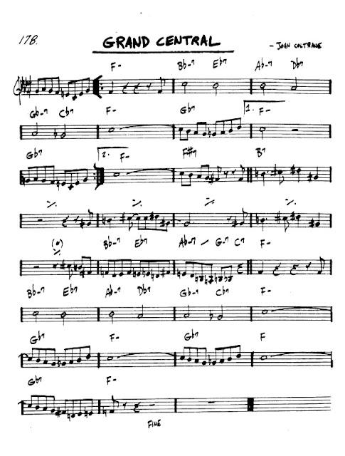 Partitura Armónica John Coltrane