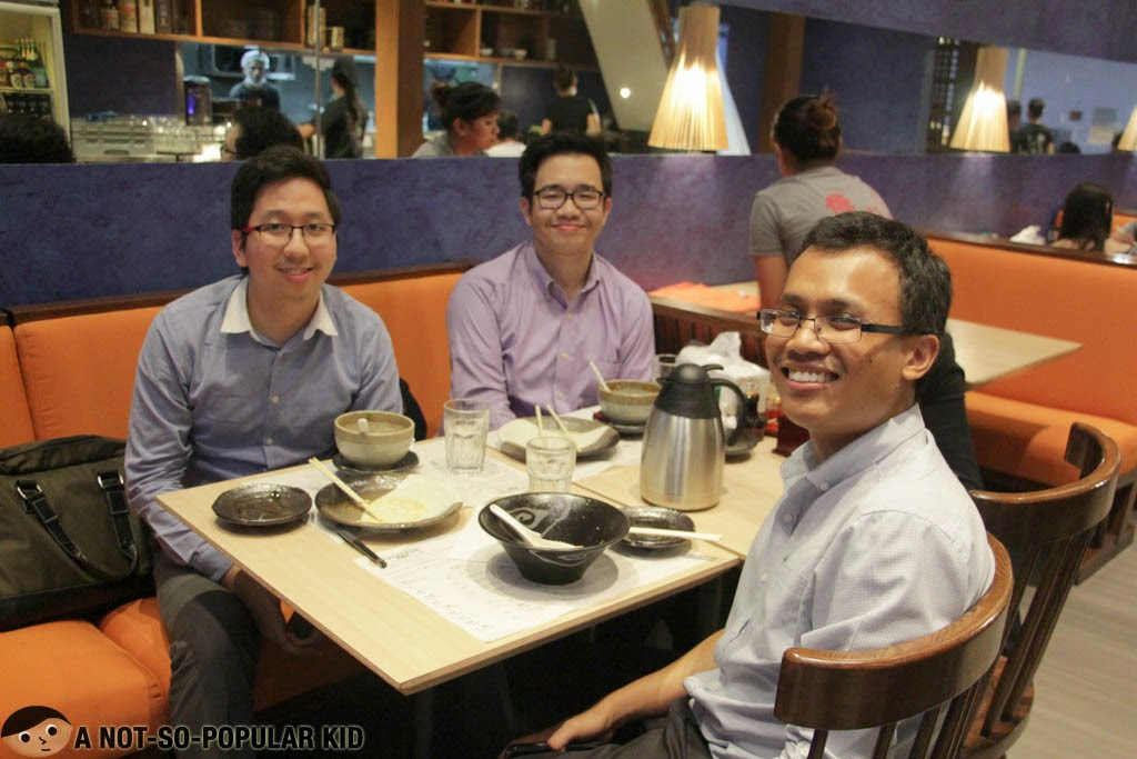 Renz Cheng, Emil Ong and Daniel Jan Del Mundo