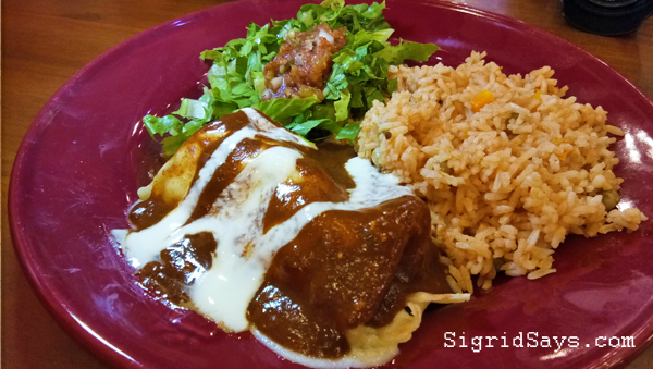Mexicali enchiladas - Bacolod restaurant