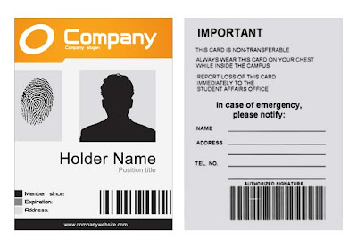 identification badges template - company id template psd xonekdesign