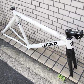 leader bikes,リーダーバイク,cretin,フレーム,ピスト,