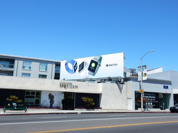 Apple Watch 2016 billboard