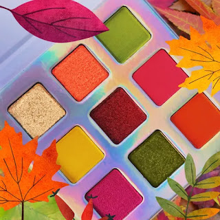 Love Luxe Beauty autumn palette