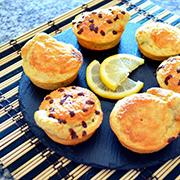 Bizcochitos de avena y limón