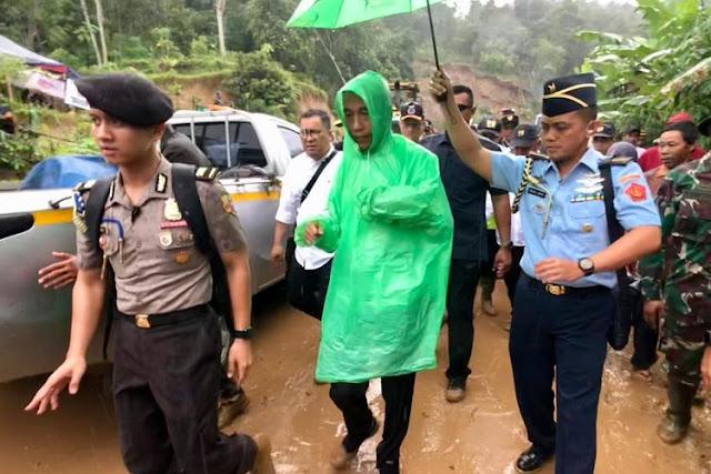 Jokowi: Jangan Karena Keuntungan Satu Dua Orang, Banjir Semuanya