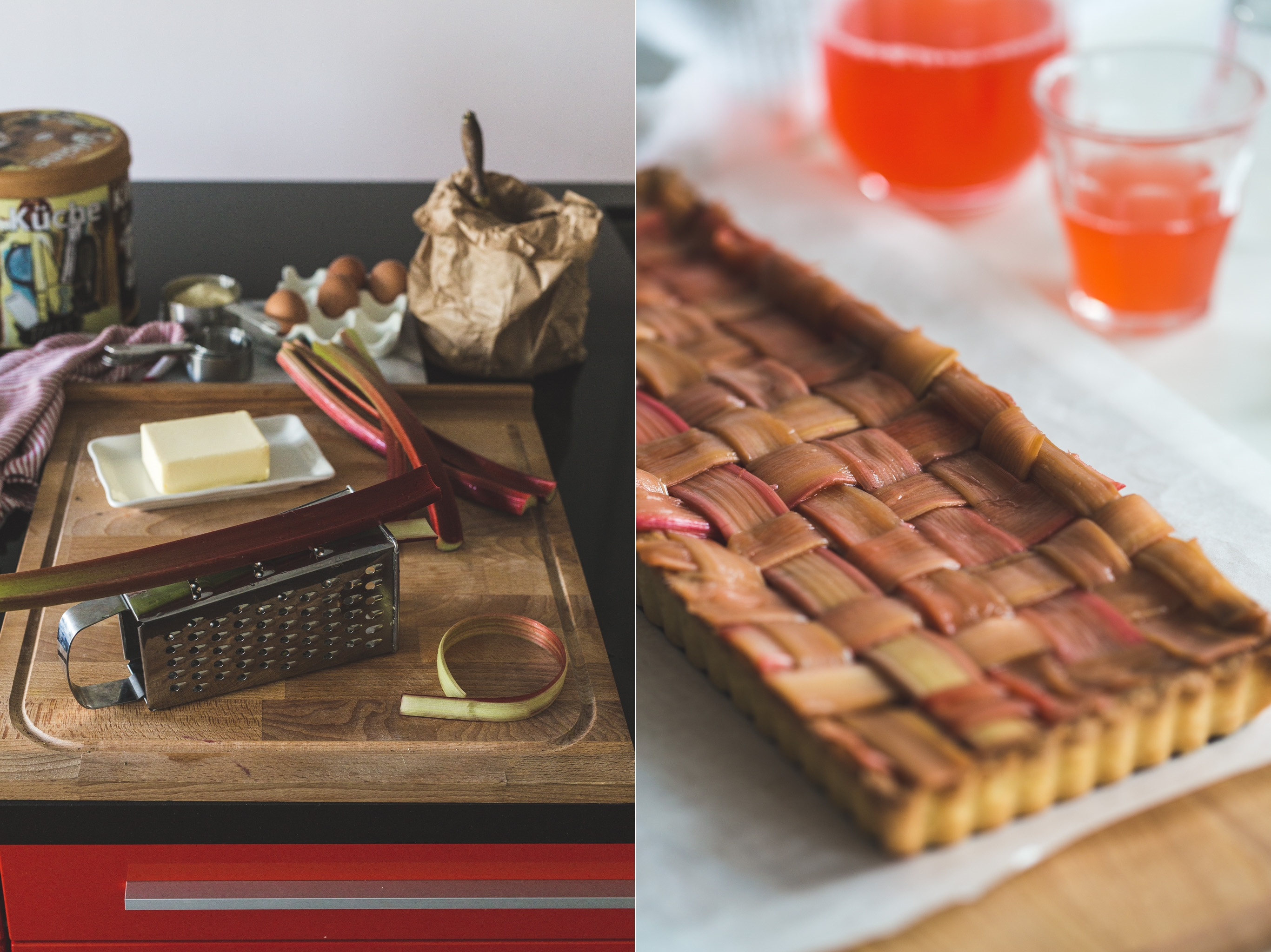 Rhubarb Tart ❤  Тарт с ревен