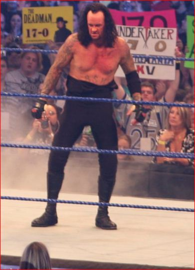 Undertaker WWE in old