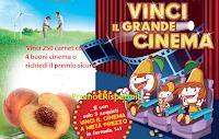 Logo Vinci 250 Carnet buoni cinema o richiedi il premio sicuro