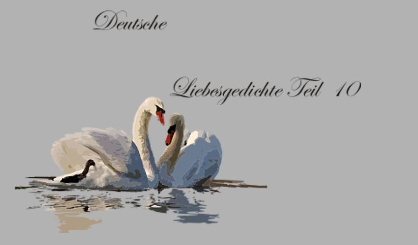 Gedichte Und Zitate Für Alle Deutsche Liebesgedichte Teil