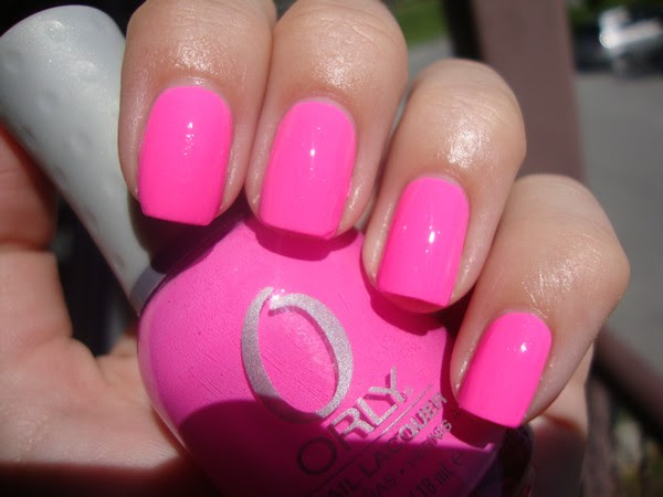 ORLY: FANCY FUCHSIA