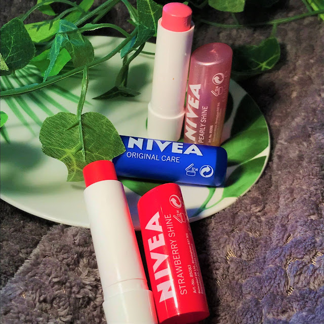 Nivea Soft Lips Lip Balms