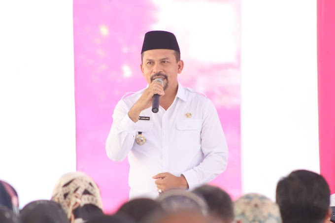 Bina ASN di Lingkup Pemkab, Bupati dan Wakil Bupati Dompu Ajak Vaksinasi dan Jangan Takut Dimutasi