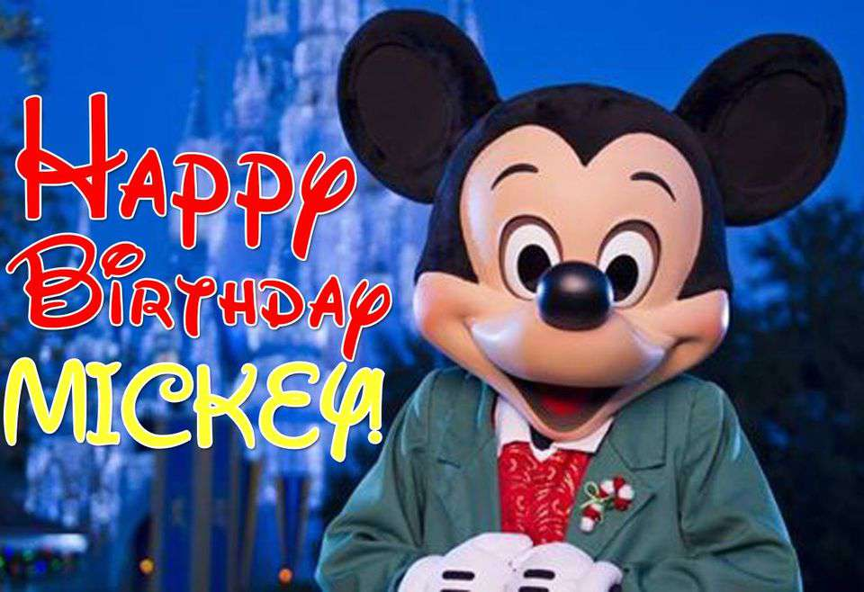 Mickey Mouse's Birthday Wishes