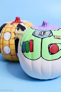 toy story no carve pumpkins