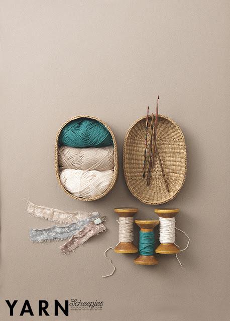 Crochet Beach Bag Crochet Pattern, Yarn the Sea Edition (photo by: Scheepjes)