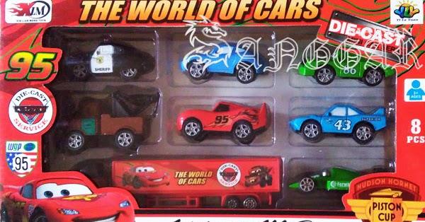 sanggar mainan jual diecast metal the cars lightning
