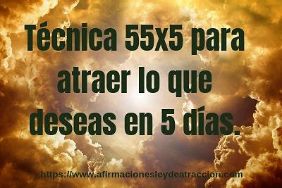 tecnica 55x5